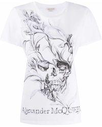 Alexander McQueen Cotton T-shirt - White