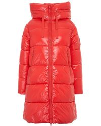 Save The Duck Other Materials Down Jacket - Red