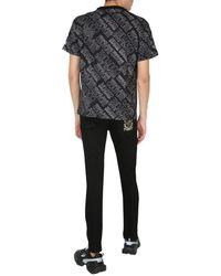 Versace Jeans Couture T-SHIRT - Schwarz