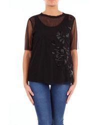 Maliparmi Cotton T-shirt - Black