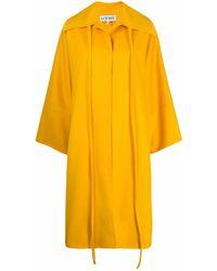 Loewe Wool Coat - Yellow