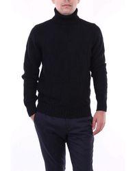Gran Sasso Wool Sweater - Black