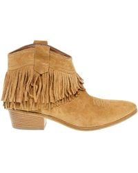 Janet & Janet Brown Suede Ankle Boots