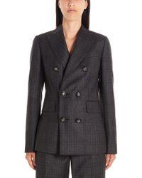 DSquared² Grey Wool Dress - Gray