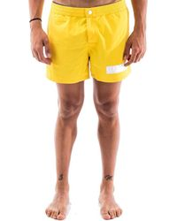 Colmar Polyamide Trunks - Yellow