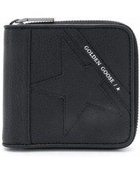 Golden Goose Deluxe Brand Leather Wallet - Black