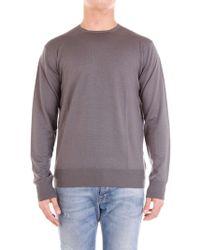 Cruciani Grey Wool Jumper - Gray