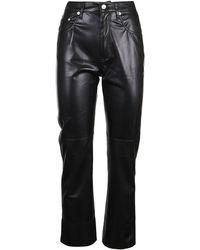 Nanushka Crpa03599 Trousers - Black