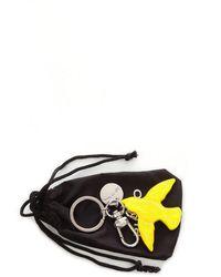Pinko Plastic Key Chain - Yellow
