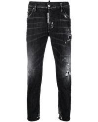 DSquared² Black Cotton Jeans