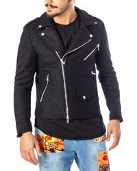 Imperial Black Polyester Outerwear Jacket