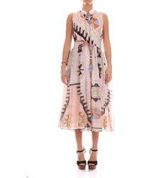 9d75dad13b Weekend by Maxmara - Multicolor Viscose Dress - Lyst
