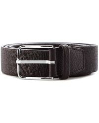 Orciani Leather Belt - Brown