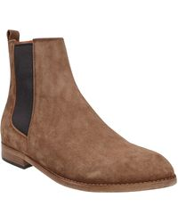 Buttero Suede Ankle Boots - Brown