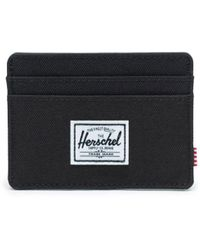Herschel Supply Co. Black Polyester Card Holder