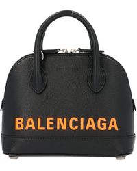 Balenciaga LEDER HANDTASCHEN - Schwarz