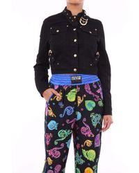 Versace Jeans Couture Black Denim Jacket