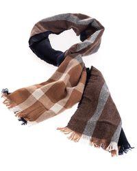 Brunello Cucinelli Brown Wool Scarf