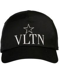 Valentino Black Polyester Hat
