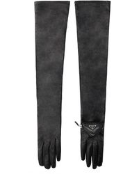 Prada Other Materials Gloves - Black