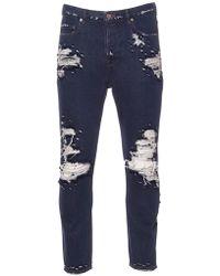 Golden Goose Deluxe Brand - Blue Cotton Jeans - Lyst