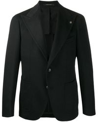 Tagliatore Black Cashmere Blazer