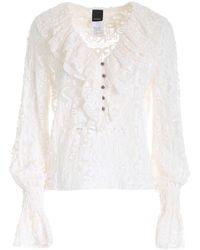 Pinko Hierros Blouse - White