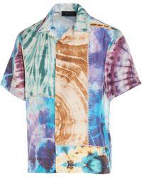 Amiri Silk Shirt - Blue