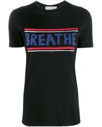 Être Cécile - Black Cotton T-shirt - Lyst
