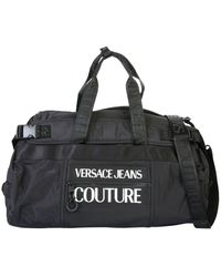 Versace Jeans Couture Polyester Travel Bag - Black