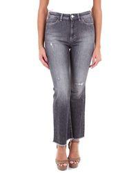 Pt05 Dn02c1vjcez10den Cotton Jeans - Grey