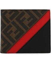 Fendi Brown Leather Wallet