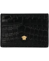 1c8b8977b3 Black Leather Card Holder