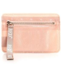 RED Valentino Polyester Wallet - Pink