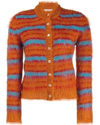 Marni Striped Cardigan - Orange
