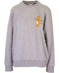 Etro Felpa Tom and Jerry con stampa - Grigio