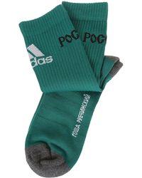 Gosha Rubchinskiy Green Cotton Socks