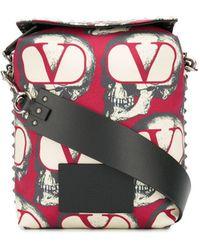 Valentino Multicolour Polyester Messenger Bag