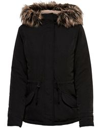 ONLY Black Polyester Coat