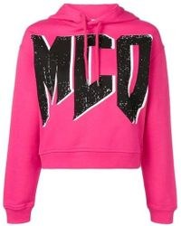 McQ Fuchsia Cotton Sweatshirt - Pink