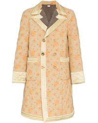 Gucci Cotton Coat - Natural