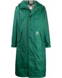 KENZO Polyamide Outerwear Jacket - Green