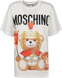 Moschino White Cotton T-shirt