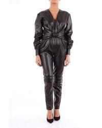 MSGM Polyester Jumpsuit - Black