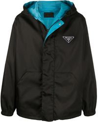 Prada Polyamide Outerwear Jacket - Black