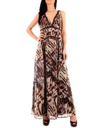 Guess 02G8117068Z POLYESTER KLEID - Natur