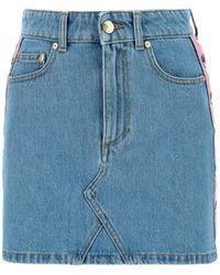 Chiara Ferragni - Other Materials Skirt - Lyst