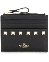 Valentino Valentino Garavani Zipped Card Holder - Red