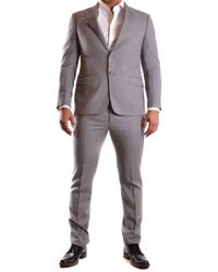 Armani Grey Wool Suit - Gray
