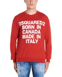 DSquared² Motto Jumper - Red